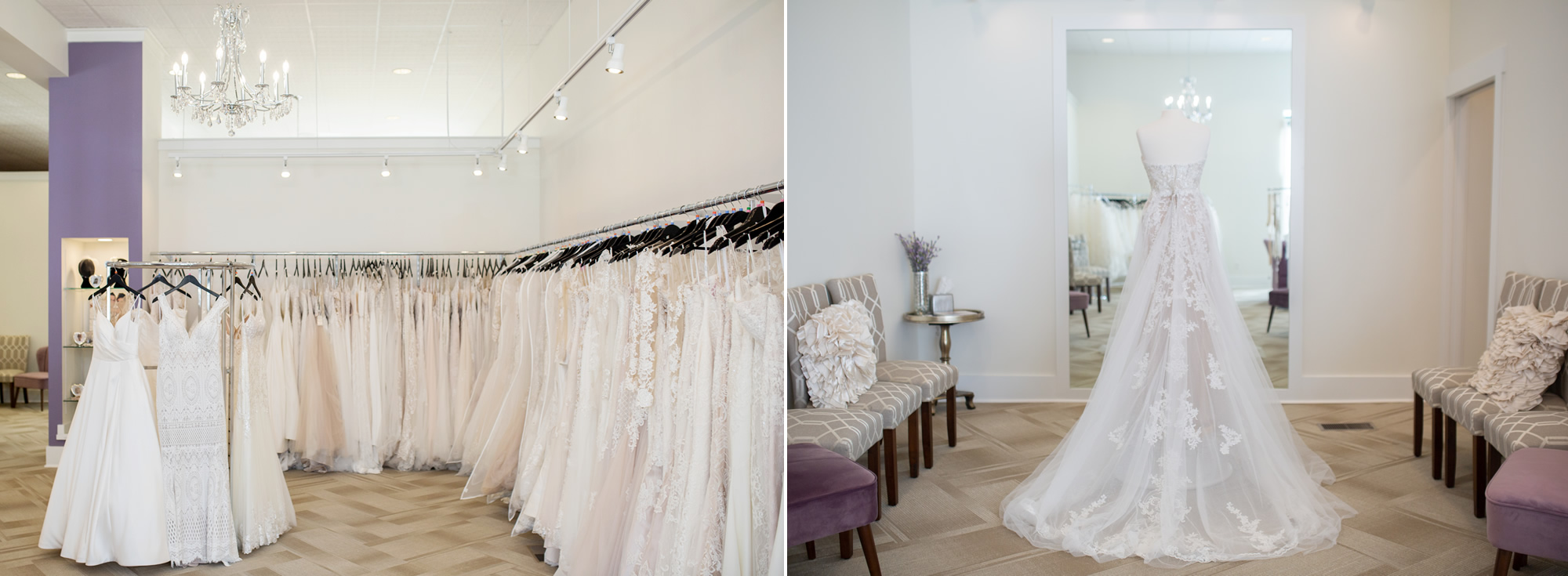 Wedding gown boutique